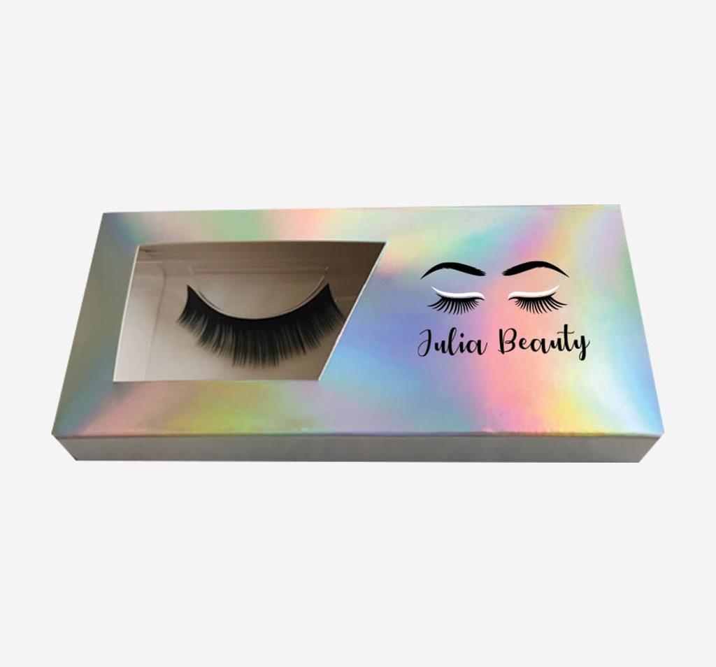Eyelash Boxes with windows